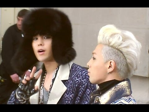 G-DRAGON & TAEYANG à Paris Défilé Show Chanel Janvier 2014 Fashion Week France