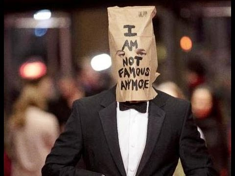 Shia LaBeouf wears paper bag on his head at Berlin Film Festival
