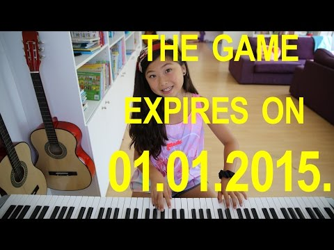 Let It Go on piano. Multiple-choice game expires on 1.1.2015