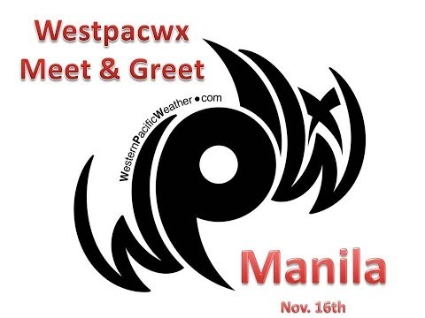 Westpacwx in Manila after Typhoon Haiyan : MeetnGreet Recap