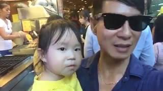 Gia đình Lý Hải Minh Hà du lịch đài loan