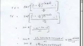 Annuities Math Annuities Formulas