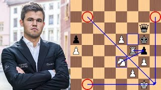 Positional Queen Sac | Magnus Carlsen vs David Navara - 2018 Biel Chess Festival