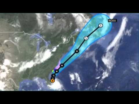 TROPICAL STORM HURRICANE ARTHUR BEFORE THE FOURTH OF JULY - NEWS247