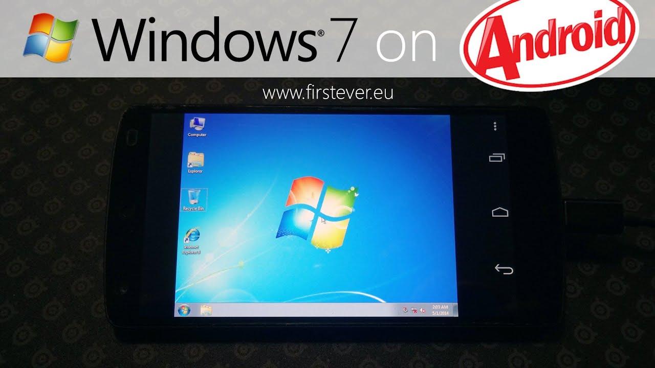 Windows 7 Для Планшета Андроид