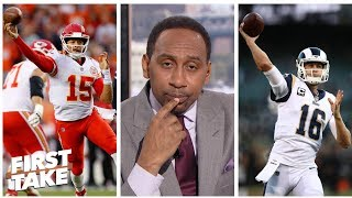 Stephen A. tabs Patrick Mahomes over Jared Goff as top young QB   First Take