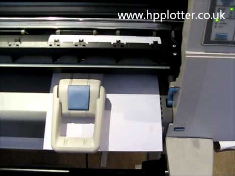 Designjet 430/450/488 Series - Black cartridge alignment on your printer