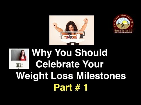 Why You Should Celebrate Your Weight Loss Milestones Part # 2 on  JOANBARS
