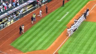Astros Opening Day 2014 -- Yankees Intro