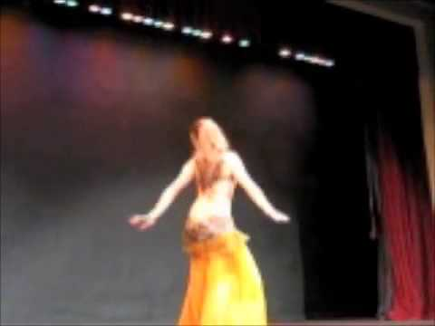 Alia Belly Dancing at Kismet Ft .Worth