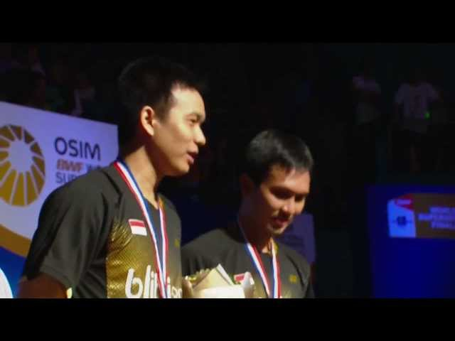 Final (Highlight) - MD - M.Ahsan / H.Setiawan vs Kim K.J. / Kim S.R. - 2013 WSS Finals