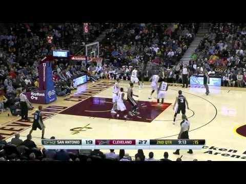 San Antonio Spurs vs Cleveland Cavaliers | March 4, 2014 | NBA 2013-14 Season