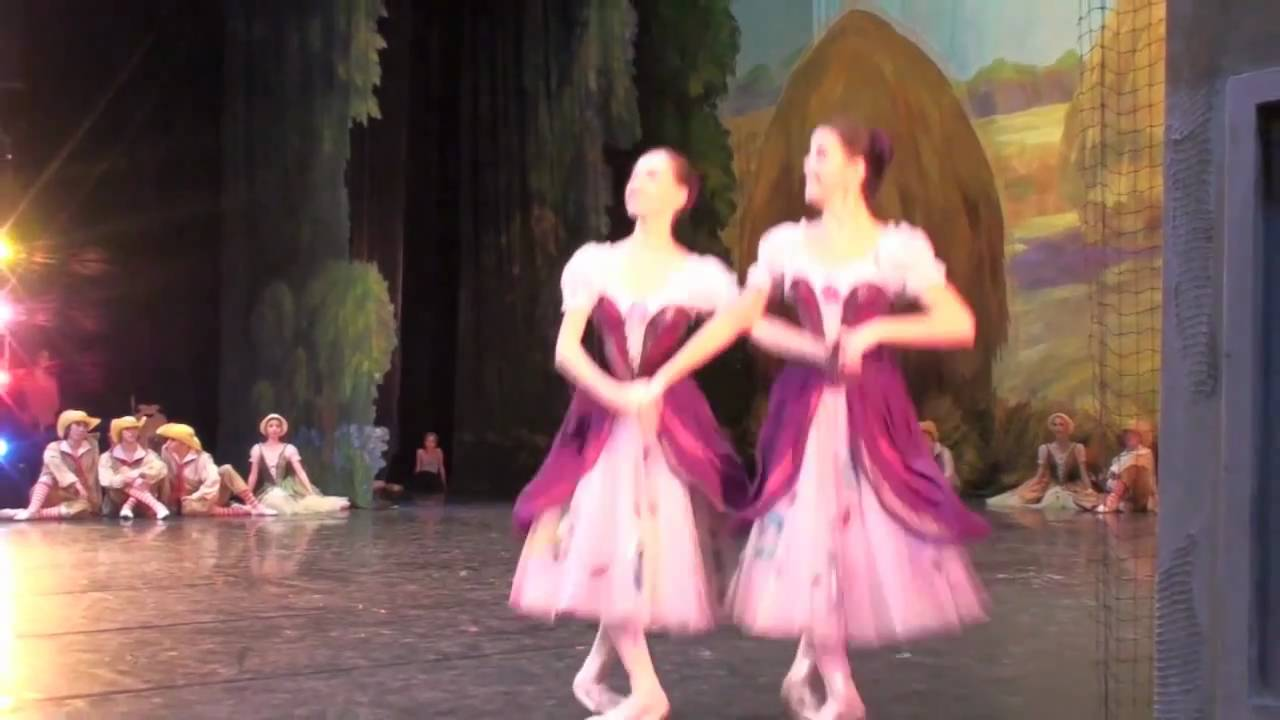 танец ундин из балета наяда и рыбак