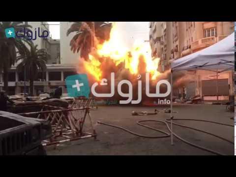 إنفجارات بشارع محمد الخامس بالرباط
