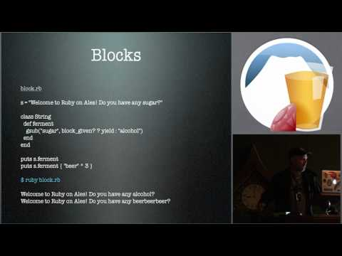 Learning Ruby Made me a better Objective C Programmer by Michael Harper at Ruby on Ales 2012