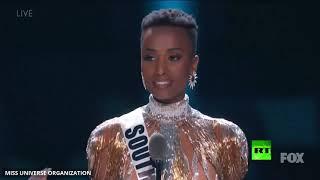 حسناء جنوب إفريقيا تفوز بمسابقة ملكة