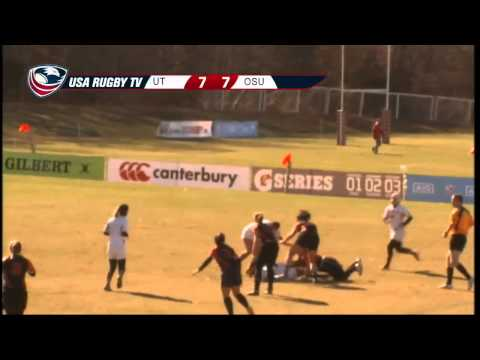 2013 USA Rugby College 7s National Championship: Texas vs  Oregon