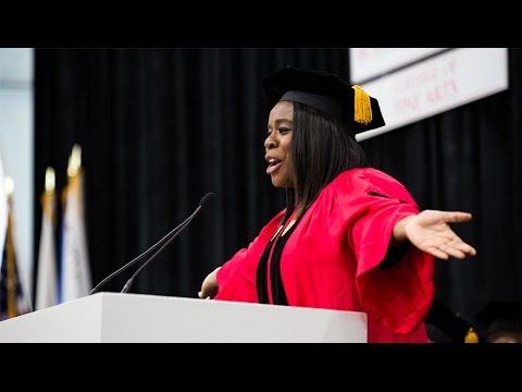 Uzo Aduba: College of Fine Arts Convocation Speaker 2017