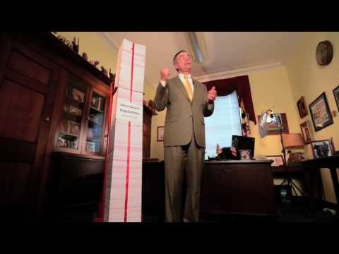 Congressman Harris: This is the Red Tape Tower of Obamacare Regulations