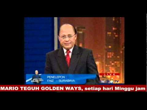 (3/4) AN OFFICER AND A GENTLEMAN - Mario Teguh Golden Ways