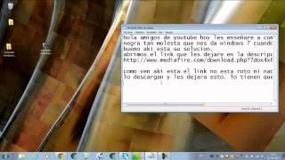 Solución De Fondo De Pantalla Negra Windows 7 ¡¡¡ BIEN