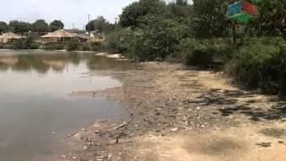 Lagoa dos namorados é um dos pontos turísticos de Nanuque e enfrenta sérias dificuldades com a seca.