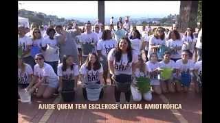 BH sedia 'desafio do balde de gelo' coletivo na Pra�a do Papa