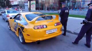 Toyota Supra Тойота Супра) Барнаул  Менты