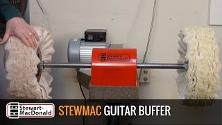Watch the Trade Secrets Video, StewMac Guitar Buffer: buffing tips
