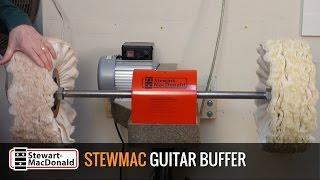 Watch the Trade Secrets Video, StewMac Guitar Buffer: buffing tips