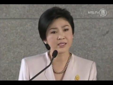 Thủ tướng Thái khóc khi đề nghị người biểu tình rời khỏi Bangkok