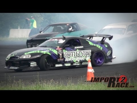 Toyota Supra Drifting at ClubLoose