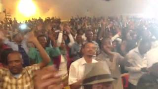 Short Clip from Oromo Concert in Finfinne on January 26, 2014