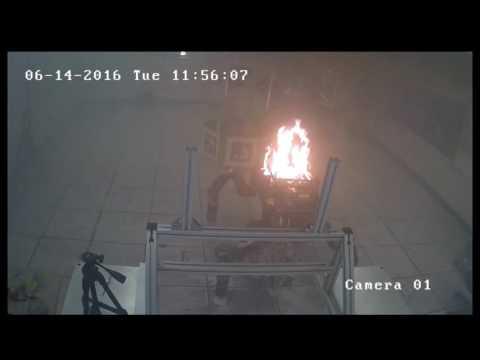 взрыв робота RoboSimian