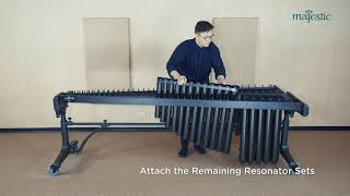 Majestic Concert Black Marimba Assembly Video thumbnail