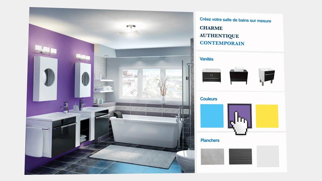 Tendances pour la salle de bains id es conseils ronamag youtube - Couleur de peinture pour salle de bain ...