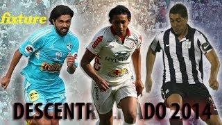Fixture Torneo Descentralizado 2014