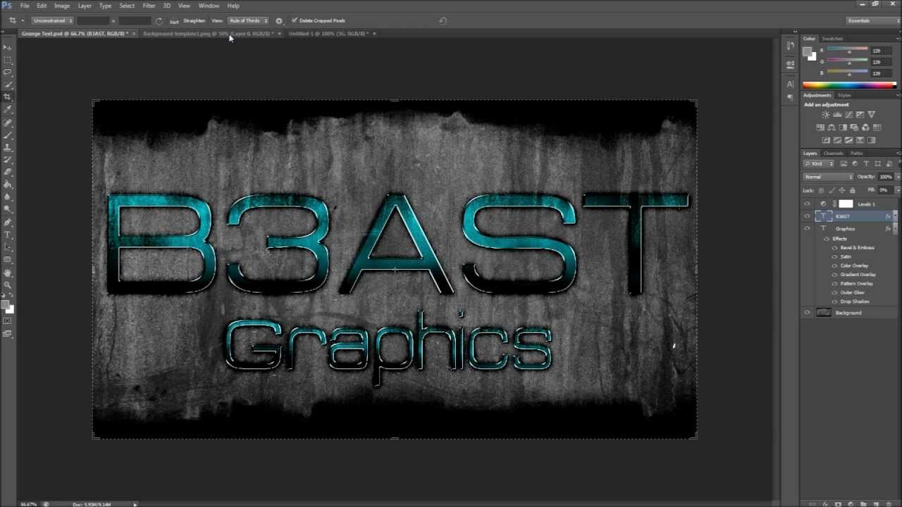 how to make a cool background in photoshop cs6