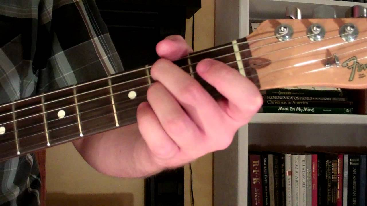 Em9 guitar chord