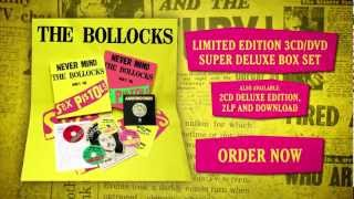 Never Mind The Bollocks 35th Anniversary TV Ad