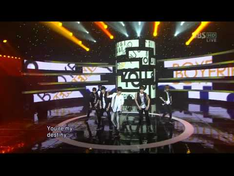 [,] 110731, SBS , HD,  Boyfriend ,You&I