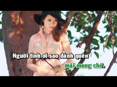 Tình Phiêu Lãng Karaoke Remix - Châu Khải Phong