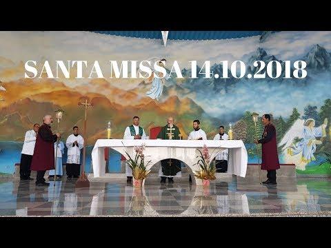 Santa Missa | 14.10.2018 | Padre José Sometti | ANSPAZ