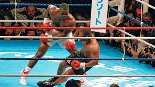 Mike Tyson first defeat agains James