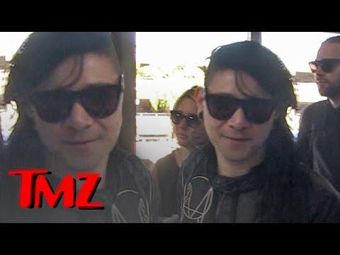 Skrillex Looks Just Like Corey Feldman