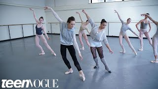 Laurie Hernandez Learns a 'Nutcracker' Routine With the New York City Ballet | Teen Vogue