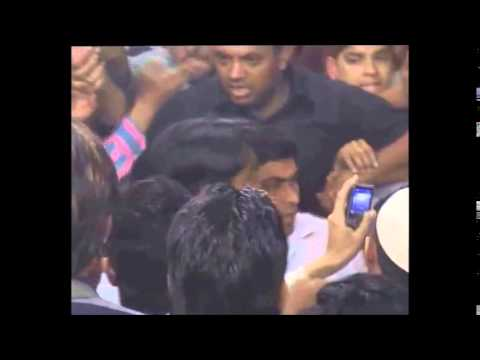 Nagma slaps youth at poll rally after he 'manhandles' her | www.newstamil.in