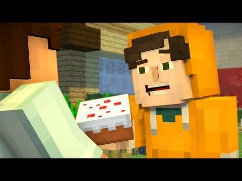 Minecraft: Story Mode - Cake Vs Pumpkin Pie - Season 2 - Episode 1 (2)