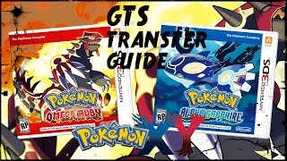 HOW TO TRANSFER POKEMON FROM POKEMON X AND Y TO