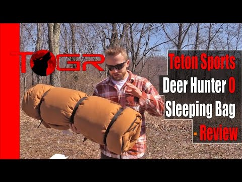 Teton Sports Deer Hunter 0 Sleeping Bag - Review